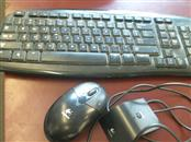 LOGITECH WIRELESS MOUSE/KEYBOARD WITH RECEIVER EX100